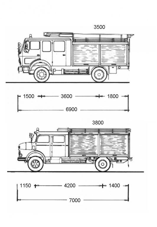 Mercedes 1017 DOKA - Allrad-LKW-Gemeinschaft