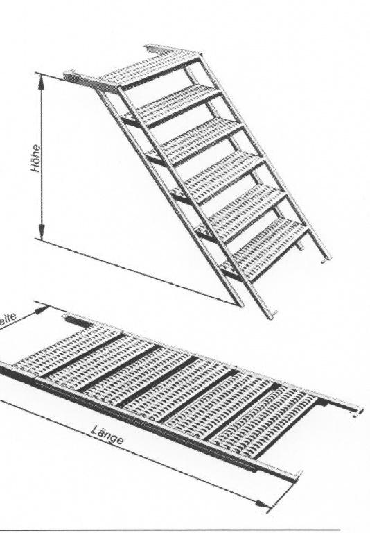 konstruktionshilfe aufbaut re mit integrierter treppe. Black Bedroom Furniture Sets. Home Design Ideas